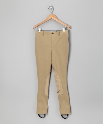 Light Tan Jodhpurs - Girls