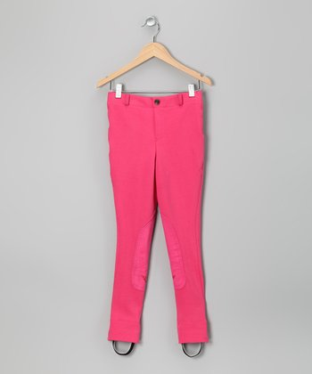 Hot Pink Jodhpurs - Girls