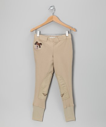Sand Molly Riding Leggings - Girls