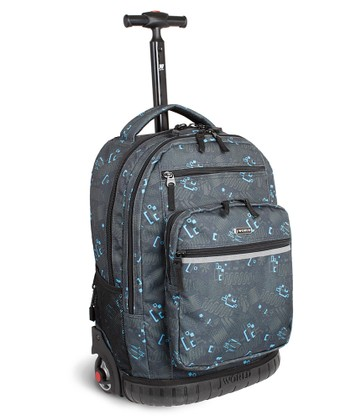 Slate Blinker Wheeled Backpack