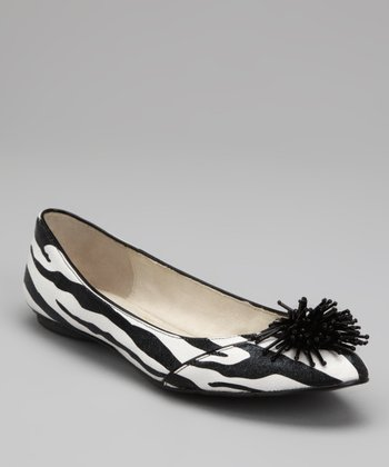 J.Reneé Black & White Darcy Flat