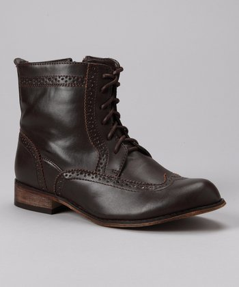 Brown Cowgirl 5 Oxford Ankle Boot