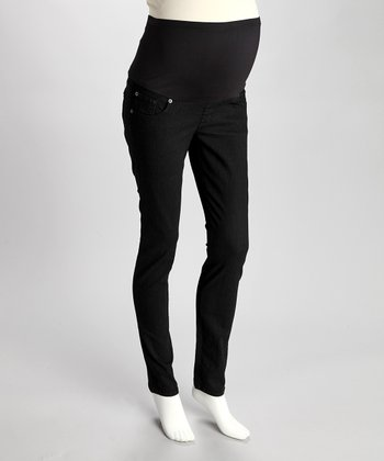 Black Cat Maternity Skinny Jeans