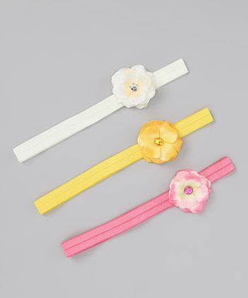 Precious Rose Headband Set - Infant