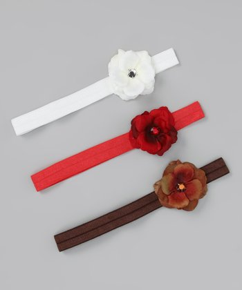 Jolly Rose Headband Set