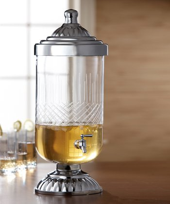 Valencia Glass 380-Oz. Beverage Dispenser