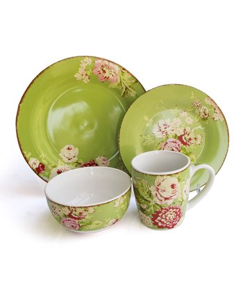 Celery Tea Dance Dinnerware Set