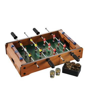 Tabletop Foosball Shot Glass Game Set