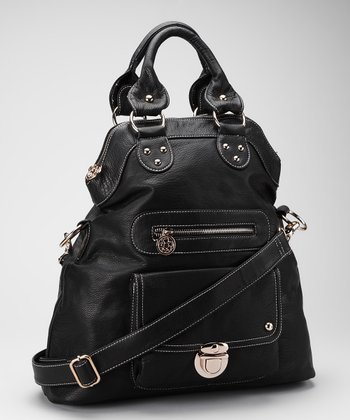 Black Convertible Tote