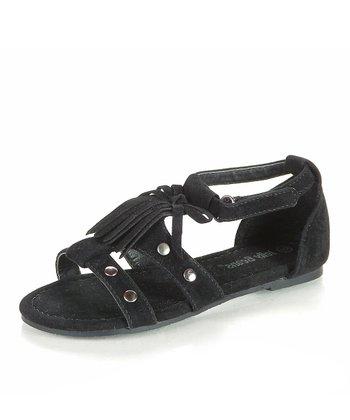 Black Boomty Sandal