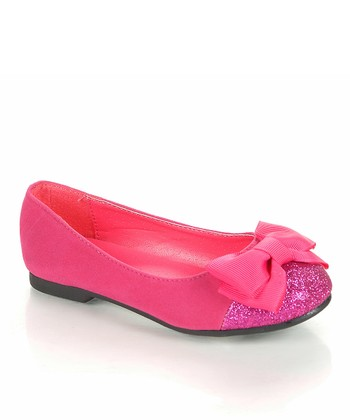 Fuchsia Giro Ballet Flat