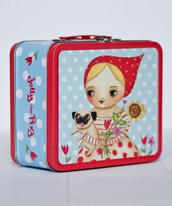 Garden Pug Lunch Box