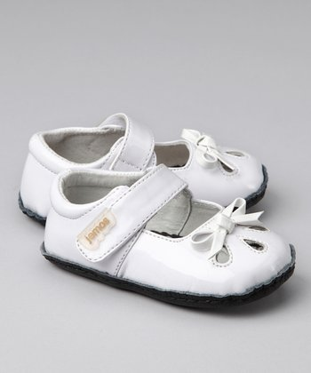 Jemos Footwear White Chloe Mary Jane