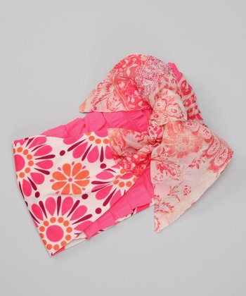 Jillie Willie Pink Solar Headwrap