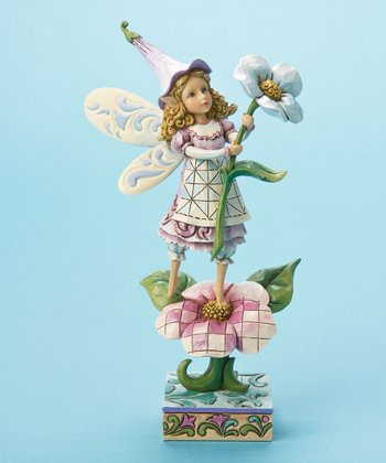 Smell the Flowers Fairy Figurine