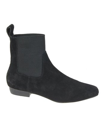Joe's Jeans Black February II Ankle Boot