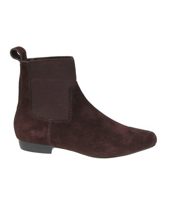 Joe's Jeans Burgundy February II Ankle Boot