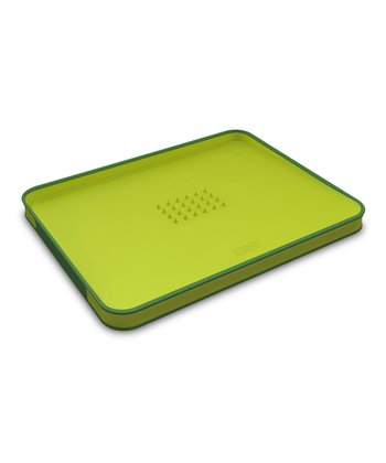 Joseph Joseph Green Cut & Carve Cutting Board