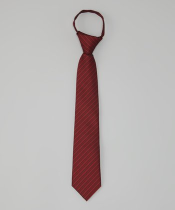 Red & Black Manja Tie