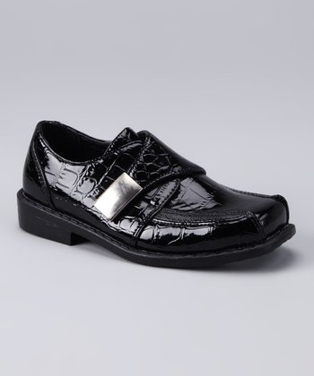 Black Crocodile Shoe