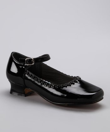 Josmo Black Patent Crystal Mary Jane