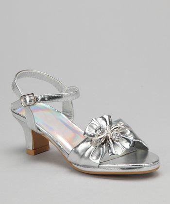 Silver Jewel Sandal