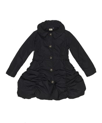 Dark Navy Bowly Jacket - Toddler & Girls