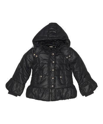 Dark Navy Bindi Jacket - Toddler & Girls
