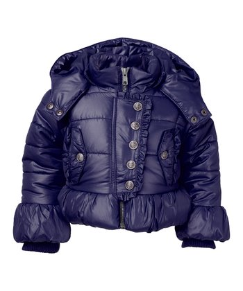 Dark Navy Bindini Jacket - Infant, Toddler & Girls
