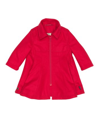 Barberry Wool Boya Coat - Infant, Toddler & Girls