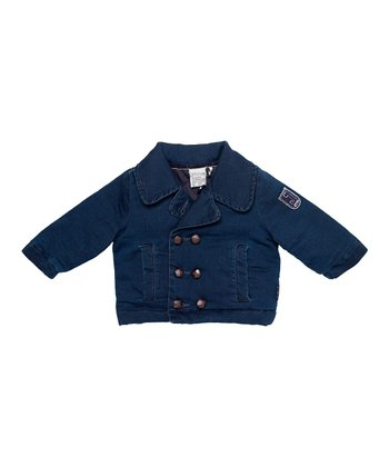Dark Navy Bob Jacket - Infant