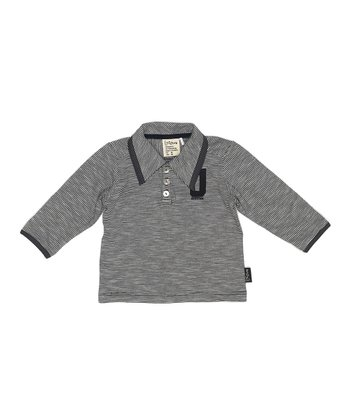 Dark Navy Norris Polo - Infant
