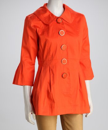 Guava Orange Jacket - Women