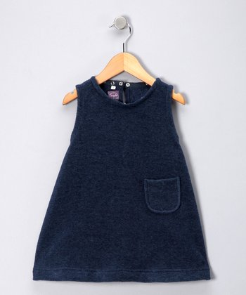 Navy Fleece Jumper - Toddler & Girls