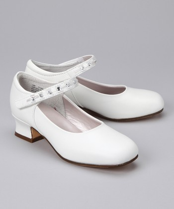 White Juliette Pump
