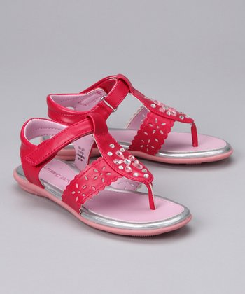 Fuchsia Christy Sandal