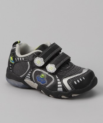 Black UFO Light-Up Sneaker