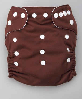 Orangutan Brown Pocket Diaper