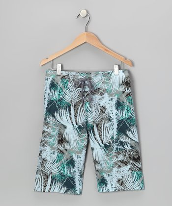 Tropical Boardshorts - Boys