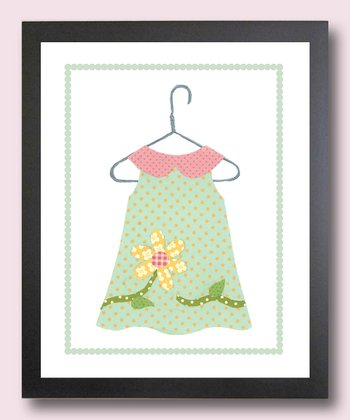 Fancy Flower Dress Print