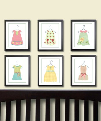 Dress Prints - Set of Six