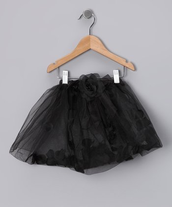 Black Petal Tutu - Infant & Toddler