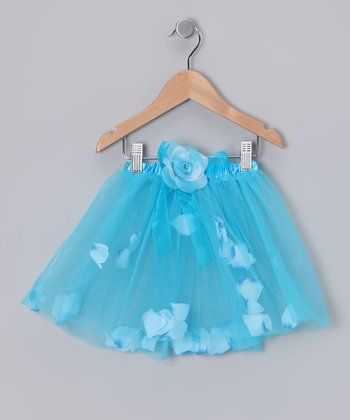 Turquoise Petal Tutu - Infant & Toddler