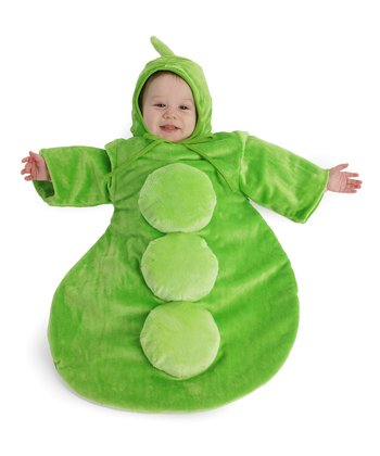 Green Peapod Dress-Up Set - Infant
