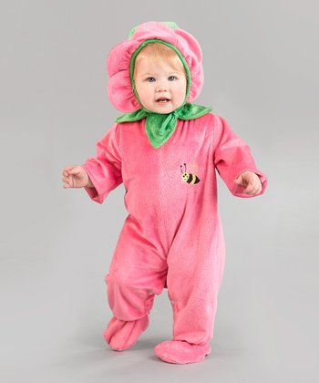Pink Flower Dress-Up Set - Infant