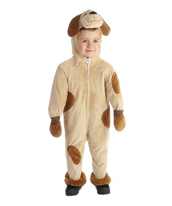 Light Tan Spot Puppy Dress-Up Outfit - Toddler