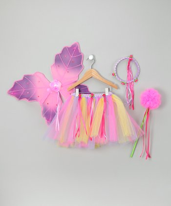 Just Pretend by Wyla Fuchsia & Lavender Alexis Tutu Set