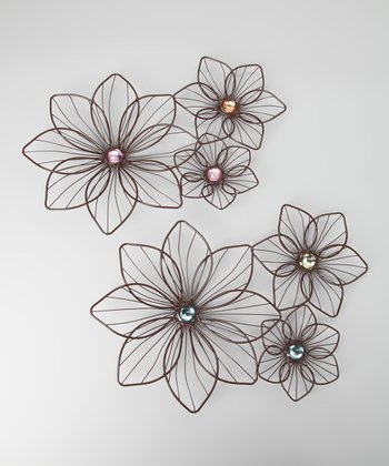 Flower Wall Décor Set