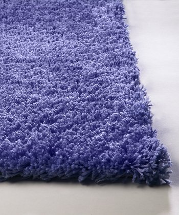 Purple Bliss Shag Rug