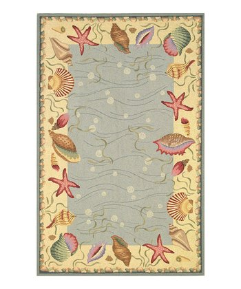 Ocean Surprise Colonial Wool Rug